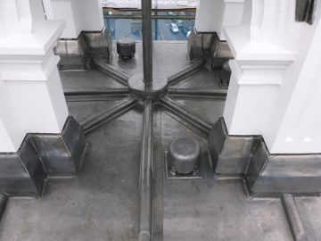 Leadwork - Lockerbie Town Hall